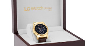 LG Watch Urbane Luxe: умные часы из золота