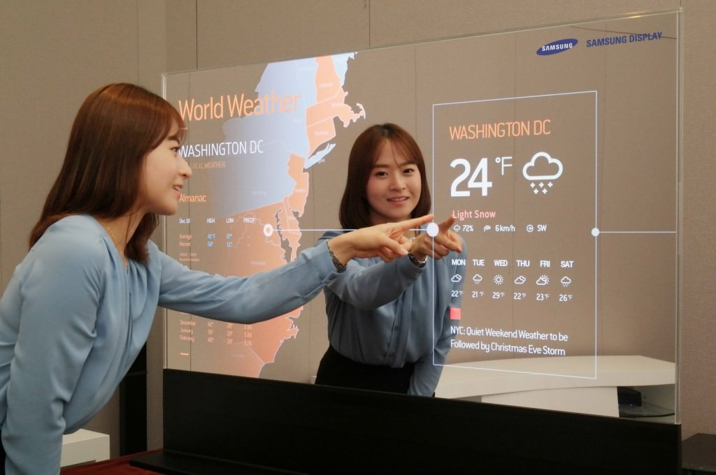 Samsung Display 55 inch Mirror OLED