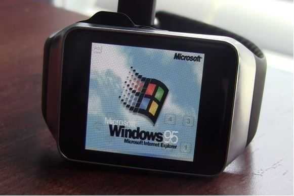 Windows 95 на Android Wear