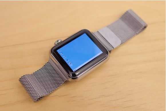 Windows 95 на Apple Watch